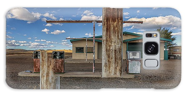 Out Of Business Gas Station Galaxy Case by Gary Warnimont