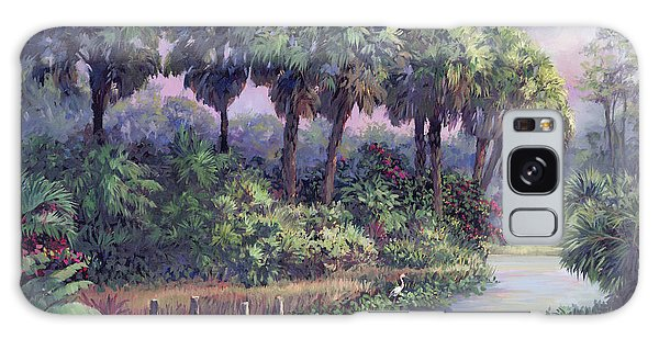 Old Florida Galaxy Case - Out On The Dock by Laurie Snow Hein