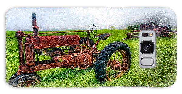 Out To Pasture II Galaxy Case by Dan Carmichael