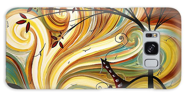 Abstract Landscape Galaxy Case - Out West Original Madart Painting by Megan Duncanson