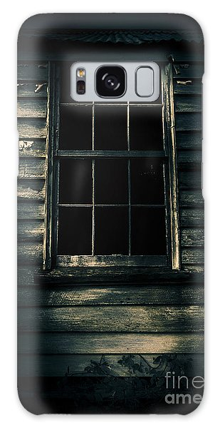 Galaxy Case featuring the photograph Outback House Of Horrors by Jorgo Photography - Wall Art Gallery