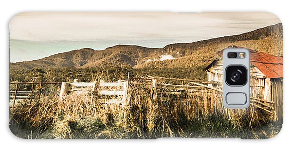 Cottage Galaxy Case - Outback Obsolescence  by Jorgo Photography - Wall Art Gallery