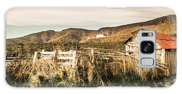 Shed Galaxy Case - Outback Obsolescence  by Jorgo Photography - Wall Art Gallery