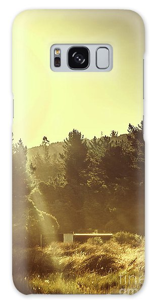 Shed Galaxy Case - Outback Radiance by Jorgo Photography - Wall Art Gallery
