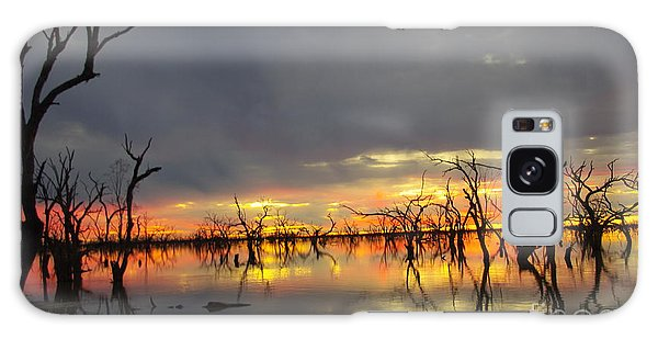 Outback Sunset Galaxy Case by Blair Stuart