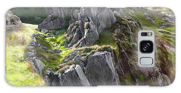 Outcrop In Snowdonia Galaxy Case