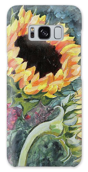 Outdoor Sunflowers Galaxy Case