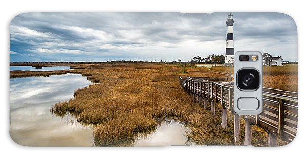 Outer Banks North Carolina Bodie Island Lighthouse Landscape Nc Galaxy Case