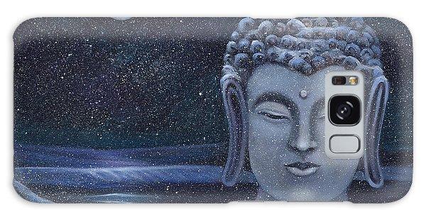 Winter Buddha Galaxy Case