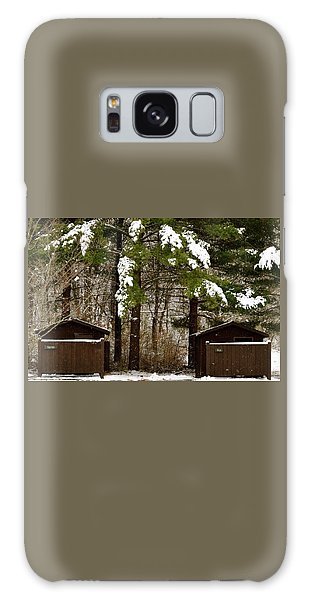 Outhouses In The Cold Galaxy Case
