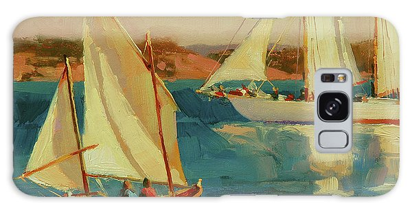 Galaxy Case featuring the painting Outing by Steve Henderson