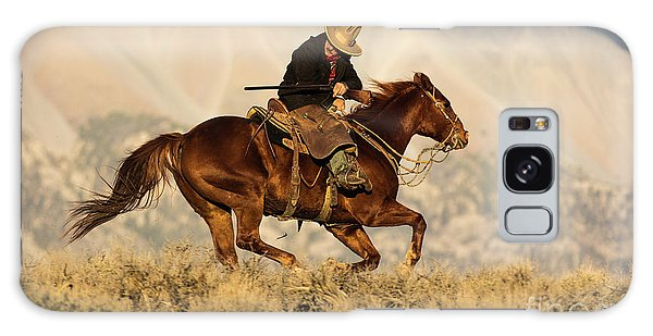 Outlaw Kelly Western Art By Kaylyn Franks Galaxy Case