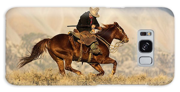 Outlaw Kelly Western Art By Kaylyn Franks Galaxy Case