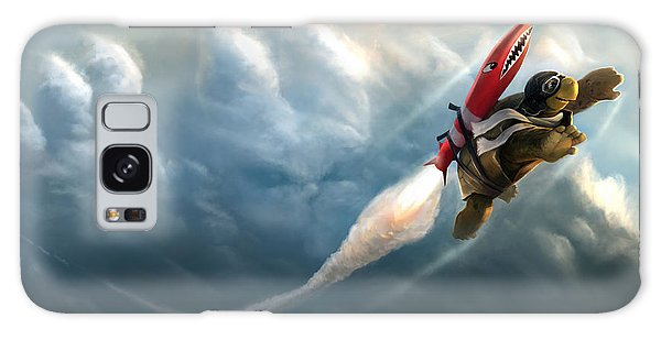 Outrunning The Clouds Galaxy Case