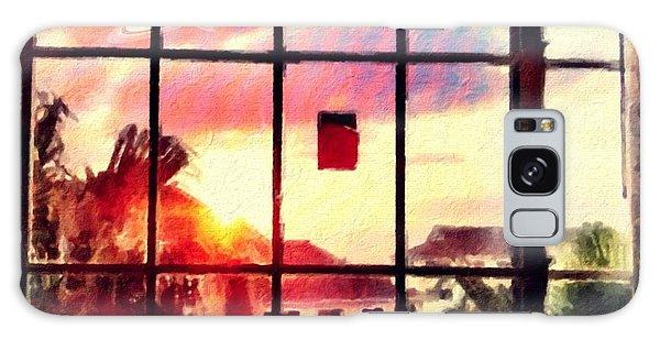 Outside My Window... Galaxy Case by Carlos Avila