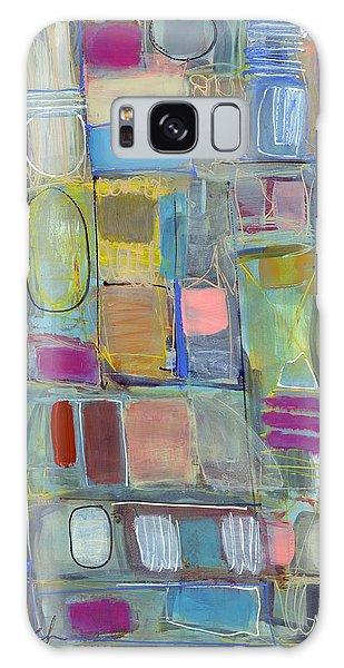 Oval Block Galaxy Case by Lynne Taetzsch