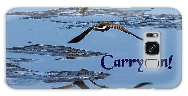 Over Icy Waters Carry On Galaxy Case