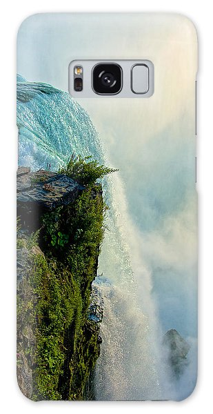 Over The Falls II Galaxy Case