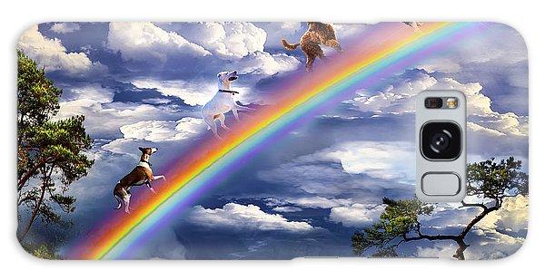 Over The Rainbow Bridge Galaxy Case