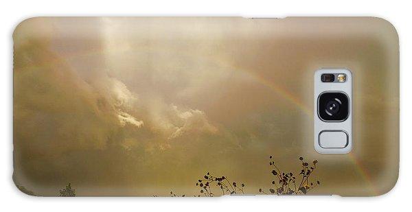 Over The Rainbow Garden Galaxy Case