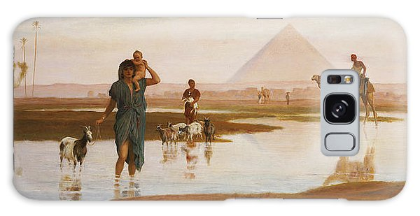 Egypt Galaxy Case - Overflow Of The Nile by Frederick Goodall