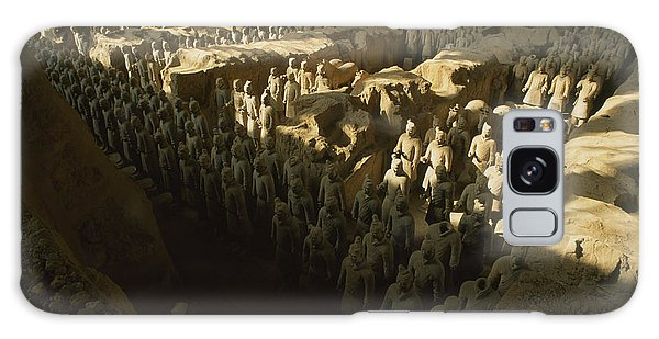 People's Republic Of China Galaxy Case - Overhead View Of The Terra-cotta by O. Louis Mazzatenta