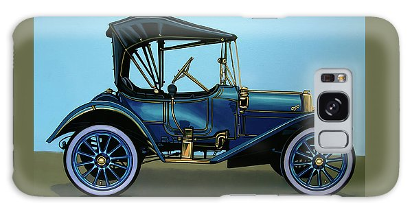 Automobile Galaxy Case - Overland 1911 Painting by Paul Meijering
