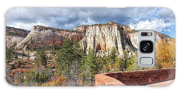 Overlook In Zion National Park Upper Plateau Galaxy Case by John M Bailey