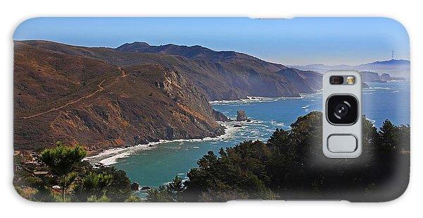 Overlooking Marin Headlands Galaxy Case