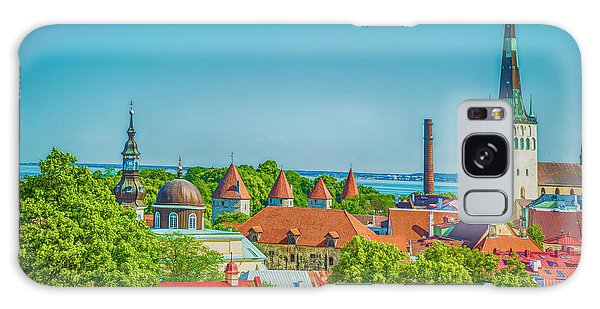 Overlooking Tallinn Galaxy Case