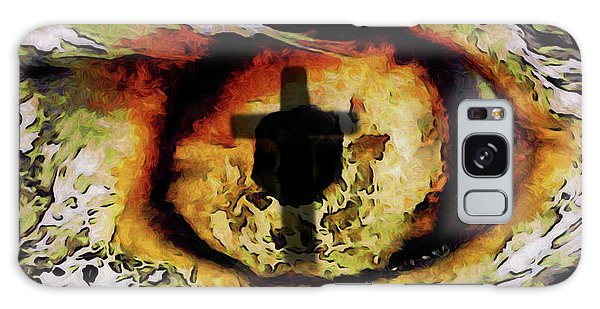Overwhelmed Remember Him Galaxy Case by Ernie Echols