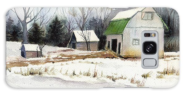 Owen County Winter Galaxy Case by Katherine Miller