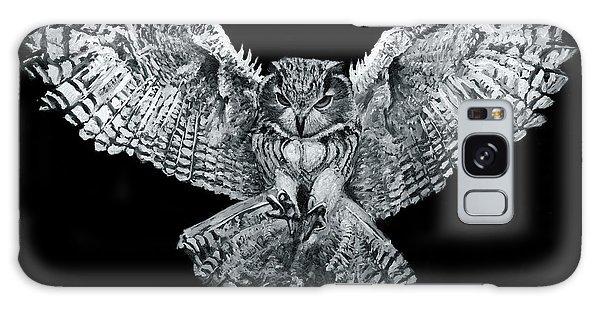 Owl 1 Galaxy Case