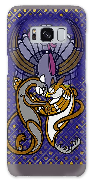 Owl And Pussycat Married Galaxy Case