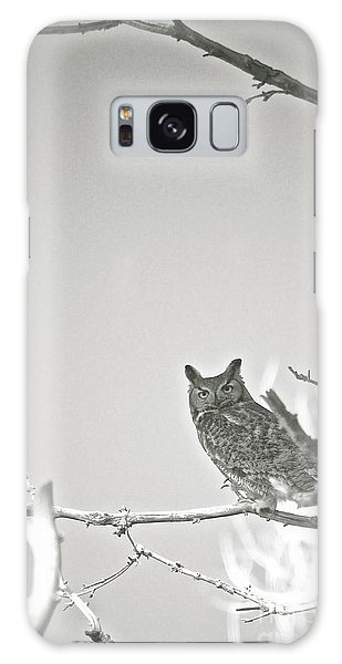 Owl Be Seeing You Galaxy Case