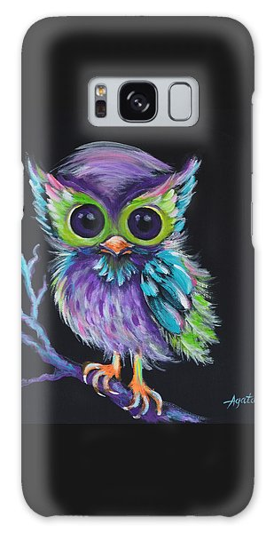 Owl Be Your Friend Galaxy Case