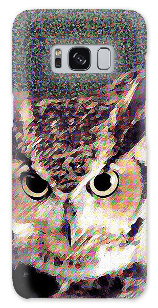 Owl By Patricia Griffin Galaxy Case