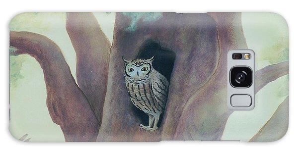 Owl In Tree Galaxy Case