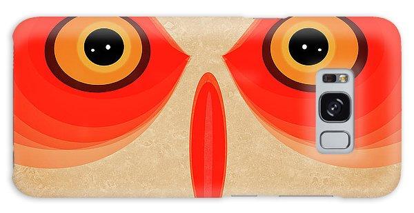 Halloween Galaxy Case - Owl by Johan Lilja