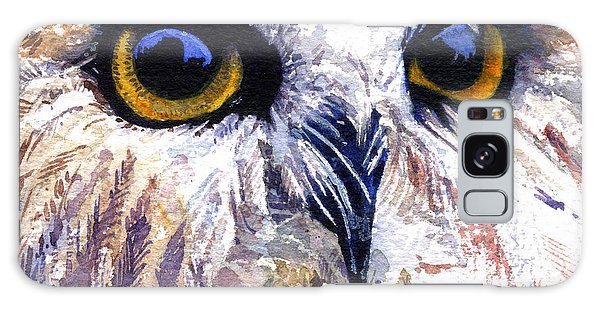 Owl Galaxy Case by John D Benson