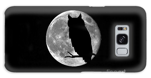 Owl Moon Galaxy Case by Al Powell Photography USA
