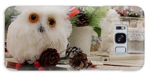 Owl On The Shelf Galaxy Case