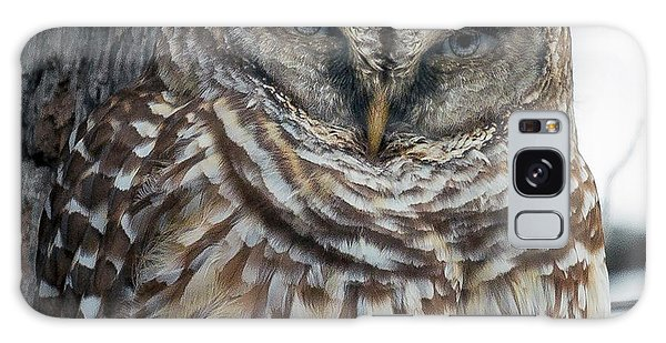 Mottled Galaxy Case - Owl See You Soon by Betsy Knapp