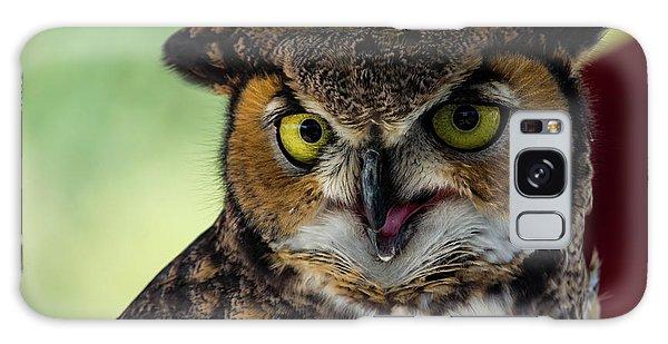 Owl Tongue Galaxy Case