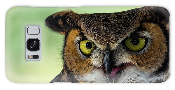 Owl Tongue Galaxy Case