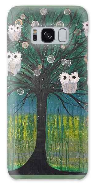 Owl Tree Of Life #378 Galaxy Case
