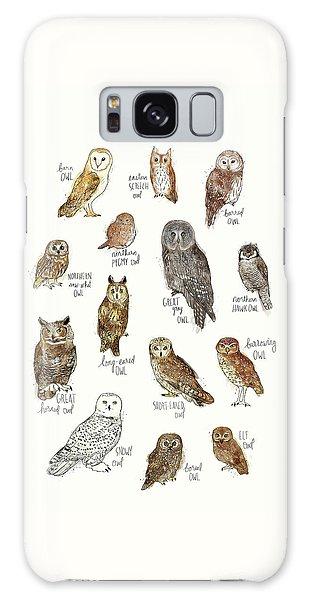 Elf Galaxy Case - Owls by Amy Hamilton