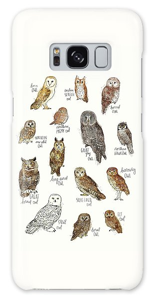 Elf Galaxy Case - Owls by Amy Hamilton