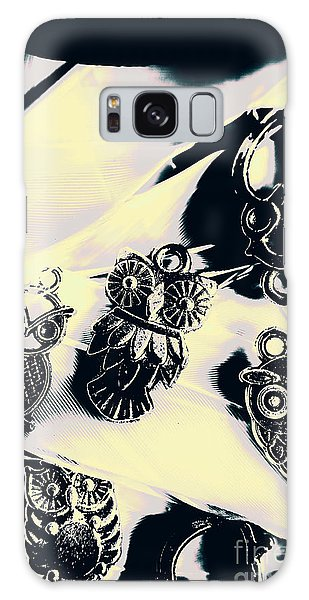 Pendant Galaxy Case - Owls From Blue Yonder by Jorgo Photography - Wall Art Gallery