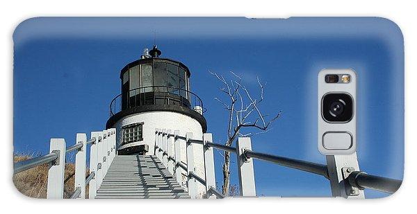 Owls Head Lighthouse Winter Galaxy Case